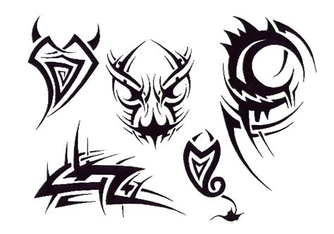 Tribal Tattoo Design Img Tribal Flash Tatto Sets Tattoo Tribal Flash
