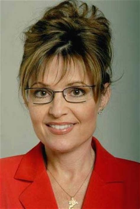 casual updos for older women governor sarah palin with casual updo hairstyle with long bang