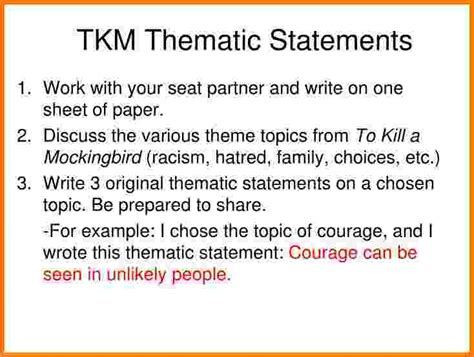 theme statement exles hamlet how to do a thematic essay