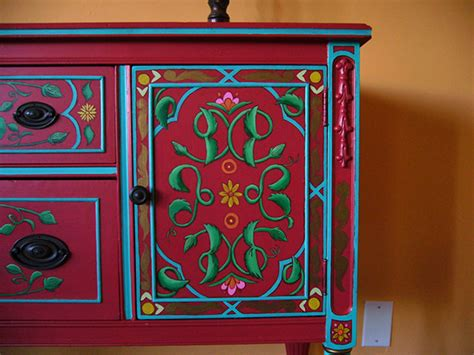 Mexican Painted Furniture by Painted Furniture On Behance