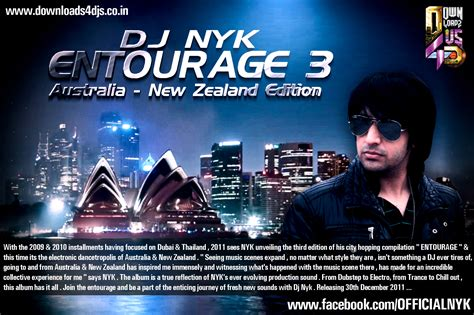 download mp3 dj nyk dj nyk entourage 3 australia new zealand edition