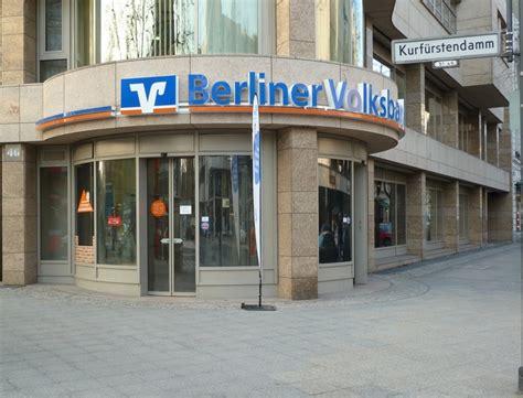 deutsche bank geldautomaten berlin geldautomat berliner volksbank kurf 252 rstendamm in berlin