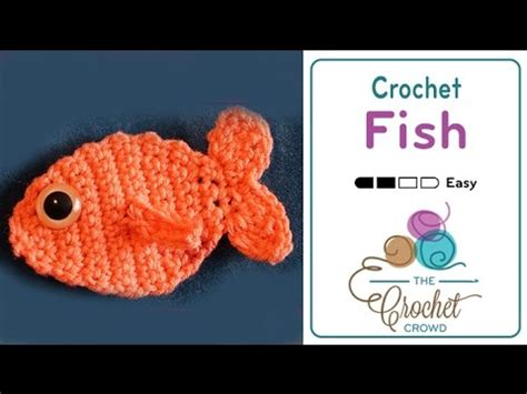 Pattern Fish Youtube | crochet fish tutorial youtube