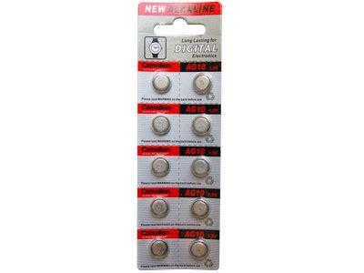Batere Lr1130 Ag10 ag10 389 390 lr54 button batteries 100 pack