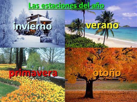imagenes de invierno verano otoño y primavera recuerdas