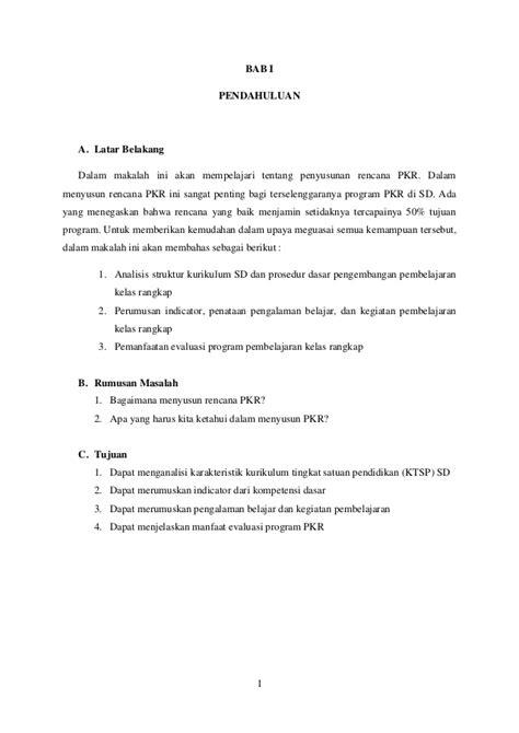 Pembelajaran Kelas Rangkap penyusunan rencana pembelajaran kelas rangakap rpkr