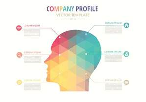 one page company profile template free vector company profile template free