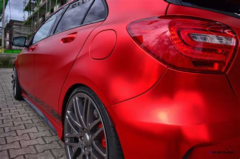 3m Folie Rot mercedes a45 amg by folien experte