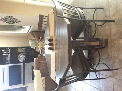 Counter Height Wooden Octagon Table Shanty 2 Chic