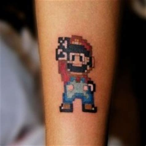 small mario tattoos inkcover picture gallery 226 jaw dropping photos