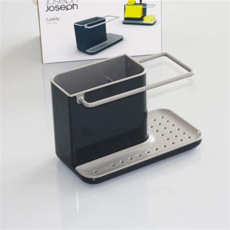 joseph joseph caddy pojemnik na przybory do zmywania joseph joseph caddy szary