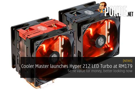 Cooler Master Hyper 212 Turbo by Cooler Master Launches Hyper 212 Led Turbo At Rm179 Still