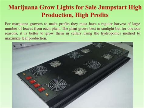 marijuana grow lights for sale marijuana grow lights for sale jumpstart high production