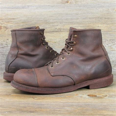 ll bean mens shoes and boots vintage ll bean tapper gro cord leather lace