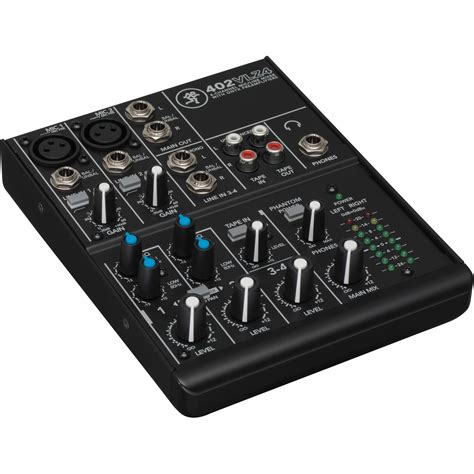Mixer Cina 4 Channel mackie 402vlz4 4 channel ultra compact mixer 402 vlz4 b h