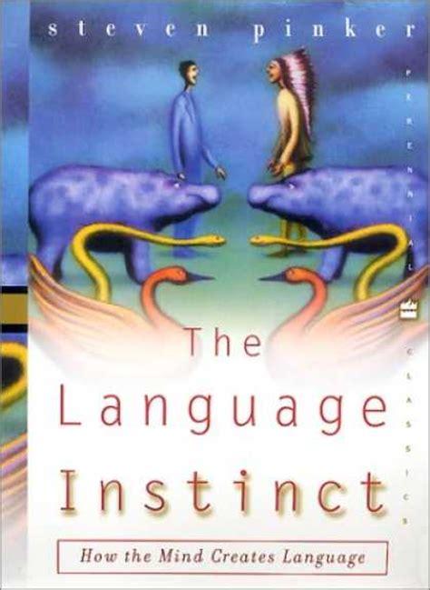 libro the language instinct the 191 qu 233 est 225 s leyendo la lectura contin 250 a pag 27 foro actualidad arte y literatura vandal
