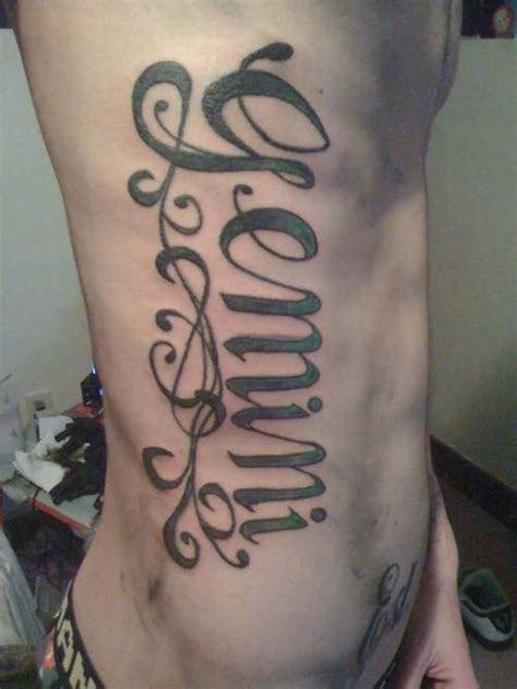 gemini tattoos for guys 50 unique gemini designs with meaning for