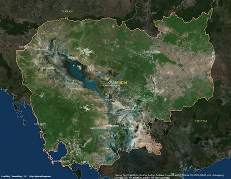 maps satellite image cambodia satellite maps leaddog consulting