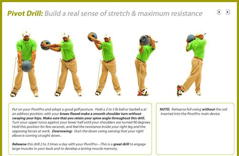 best exercises for golf swing pivotpro golf fitness training aid for footwork instep