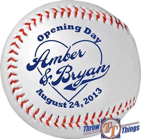 personalized baseballs wedding favors throw tell baseball wedding favors gifts