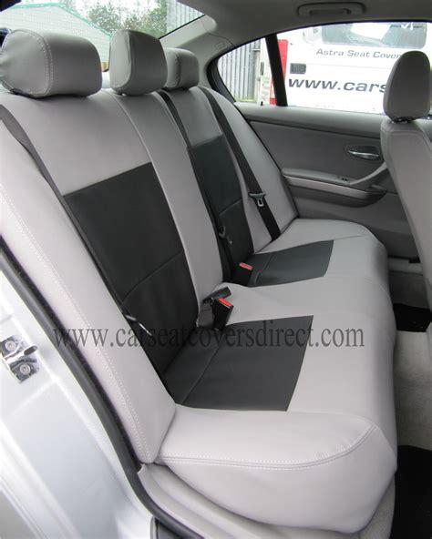 bmw  series  grey black seat covers
