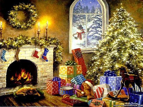 Child Safe Fireplace Screen by Crazy Frankenstein Christmas Tree Wallpapers