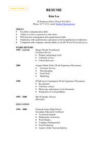 Communications Resume Sle by Resume Factory Worker Sales Worker Lewesmr