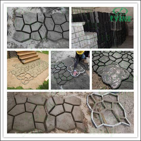 Cement Decorative Molds by Outdoor Decorative Concrete Pavement Block Molds On