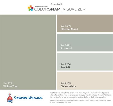 mpc color match of sherwin williams sw7639 ethereal mood i found these colors with colorsnap 174 visualizer for iphone