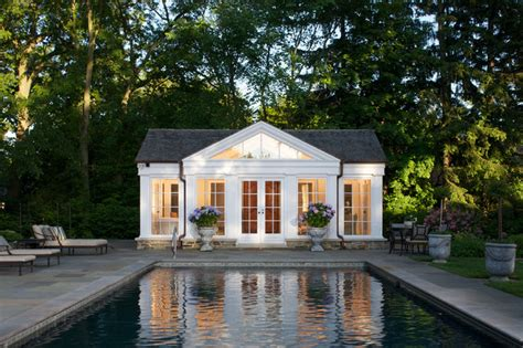 Poolhouse Plans by Pool House
