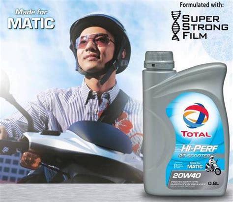 Total Hi Perf 4t Scooter For Matic total indonesia on quot bebaskan mesin motor matic mu dari penumpukan kotoran dengan