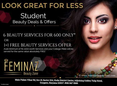 salon offers beauty salon deals in gurgaon save 40 10 now