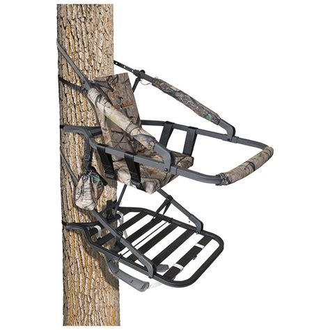 big treestands big 174 cobalt climber tree stand 592883 climbing tree stands at sportsman s guide