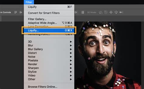 Reset Liquify Tool Photoshop | adjust and exaggerate facial features adobe photoshop cc