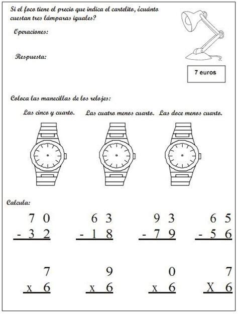 cuaderno matemticas 6 primaria 846801480x cuaderno de actividades matem 225 ticas 2 186 primer ciclo de primaria matem 225 ticas primer