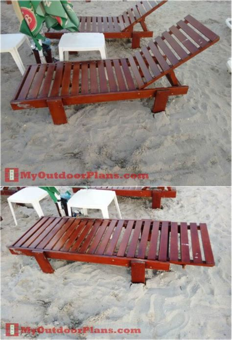 elegant sunbathing loungers   diy  plans diy crafts
