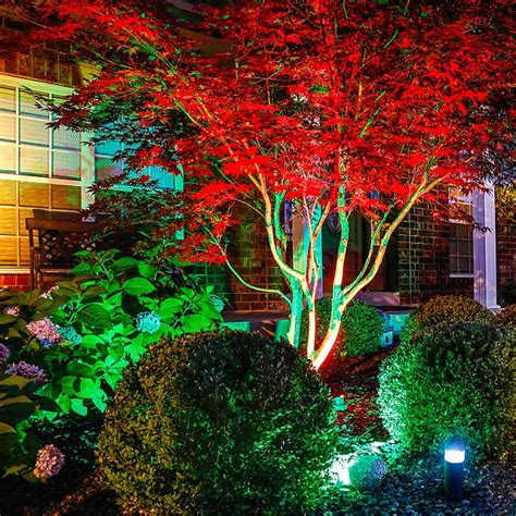 Rgb Landscape Lighting 6w Color Changing Rgb Led Landscape Spotlight Remote Sold Separately Led Landscape Spot