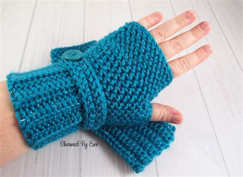 free pattern for crochet fingerless gloves herringbone fingerless gloves charmed by ewe