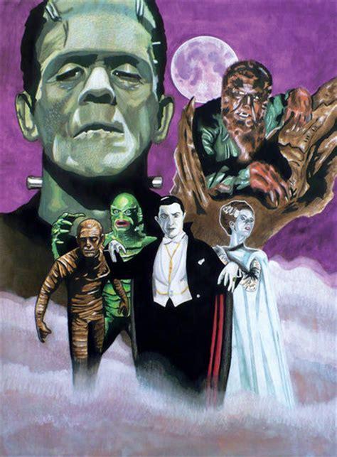 universal monsters wallpaper wallpapersafari