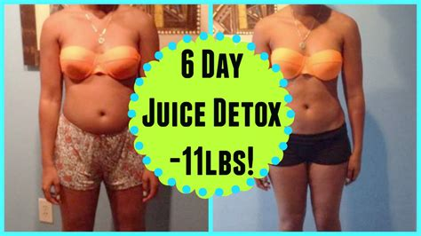 How Before Detox by 6 Day Detox Fast Before After Pictures