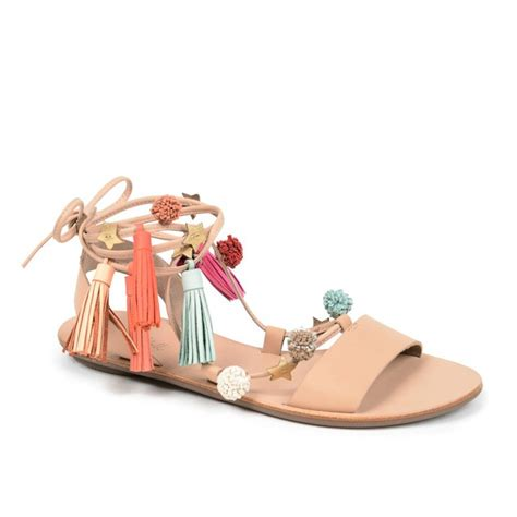 Homey Sandal Pompom 6 to pair with your new pompom statement shoes wheretoget
