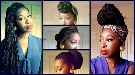 ways to pack braids ways to style long box braids solange braids janet jackson