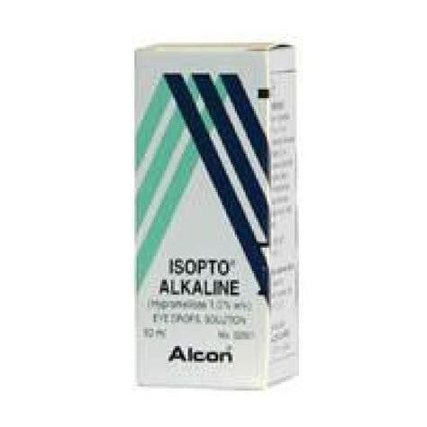 alkaline eye isopto alkaline eye drops solution 1 10ml eye care