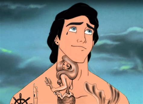 tattooed disney characters here s what 14 disney characters would look like as