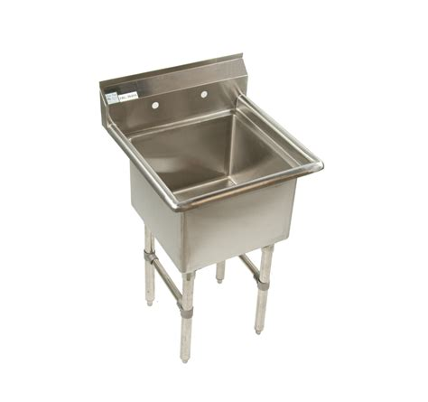 Commercial Sink 1 Compartment Stainless Steel Sink Restaurant Veggie Sinks
