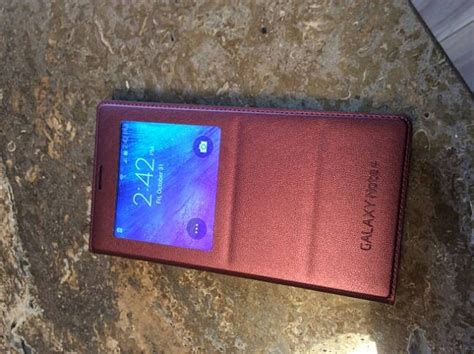 Note 4 Cover S View Note 4 Sarung Note 4 samsung galaxy note 4 how to get s view cover to work with phone android forums at