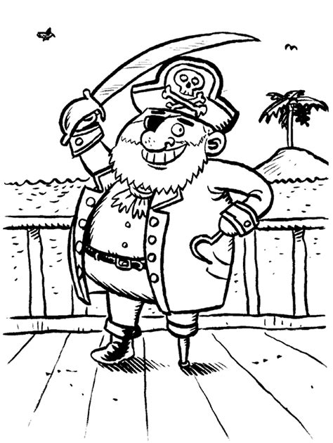 pirate coloring pages coloringpagesabc com