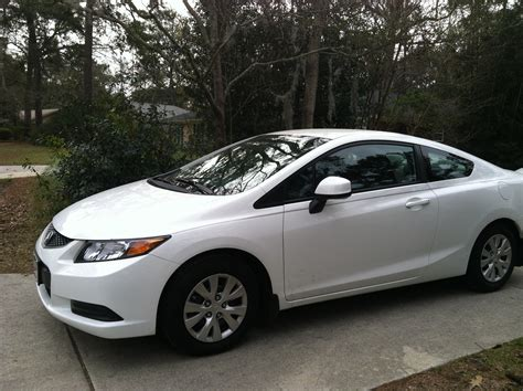 2 door compact cars white 2012 honda civic two door autos pinterest