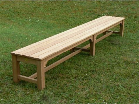 bespoke benches bespoke backless bench