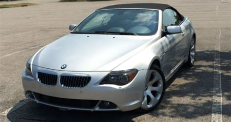 auto manual repair 2005 bmw 645 security system purchase used 2005 bmw 645ci silver convertible black leather interior sports package in